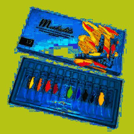 Набор акриловых красок RuNail для ногтей Meskalito