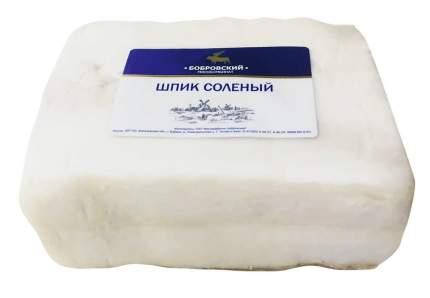 Шпик соленый в/у вес бобровский мк 400 г
