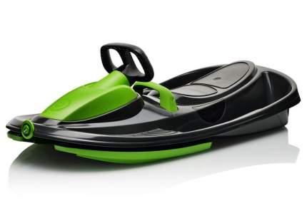 Санки-снегокат Gismo Riders Stratos черно-зеленый