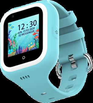 Детские смарт-часы Wonlex Smart Baby Watch KT21 Blue/Blue