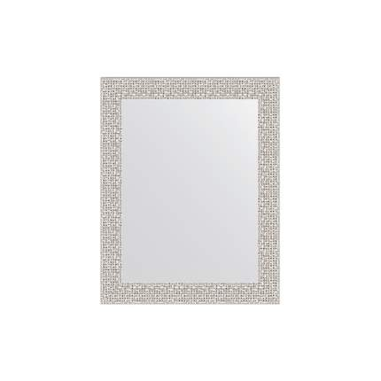 Зеркало в раме EVOFORM мозаика хром
