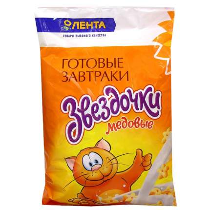 Готовый завтрак Лента звездочки медовые 300 г