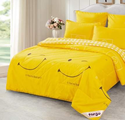 """Комплект постельного белья с одеялом """"Tango"""" De Verano Y-03 1.5 спальное"""