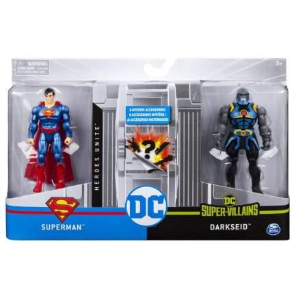 """Фигурки Spin Master DC """"Супермен и Дарксайд"""" 10 см 6056334/20123054"""