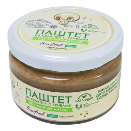 Закуска Полезные продукты Паштет из семечек с грибами 200 г
