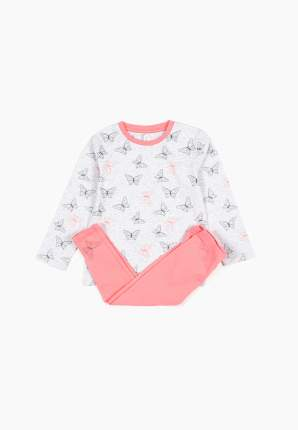 Пижама (топ брюки) для девочек Modis цв. разноцветный р.104-110