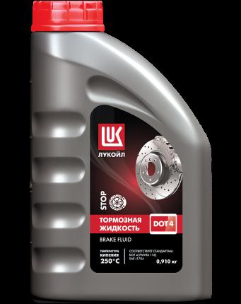 Жидкость тормозная Лукойл Brake Fluid DOT4 0.91 л 1338295