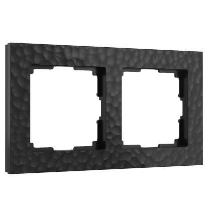 Рамка Werkel W0022408/ Рамка на 2 поста (черный)