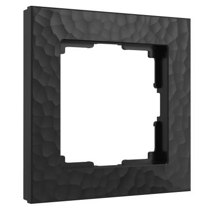 Рамка Werkel W0012408/ Рамка на 1 пост (черный)