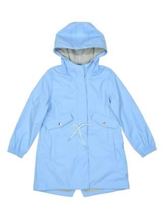 Куртка-парка для девочек Modis цв. голубой р.158