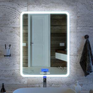 Зеркало для ванной комнаты JOKI Asti с подсветкой и музыкальным блоком, 60*80 см