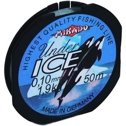 Леска мононить Mikado UNDER ICE 0,12 (50 м) - 2.10 кг.