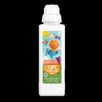 Кондиционер для детского белья Wellery Care Natural с ароматом ванильной ириски, 1 л