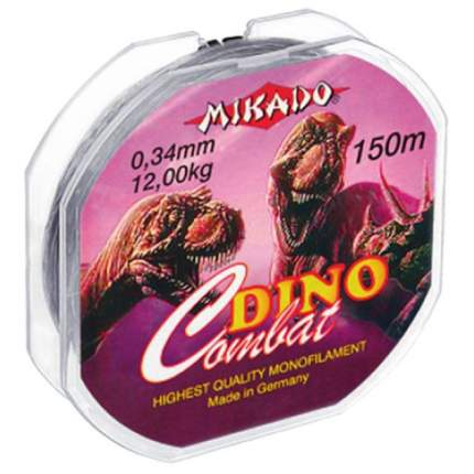 Мононитная леска Mikado Dino Combat 150м - 0.38мм - 13.20кг