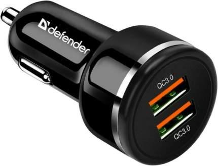 Автомобильное зарядное устройство Defender UCA-80 2xUSB QC3.0, 36W