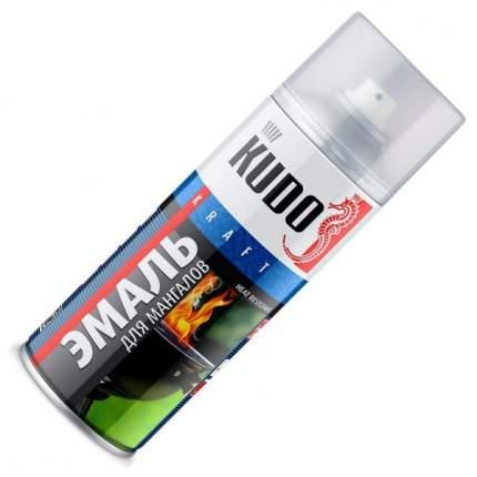 Эмаль KUDO термостойкая для мангалов черная 520мл
