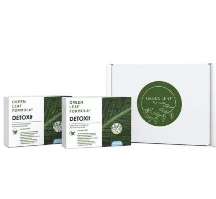 Набор очищение и детоксикация организма DETOXit 2 шт. Green Leaf Formula капсулы 60 шт.