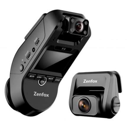 Видеорегистратор Zenfox T3 3CH с тремя камерами