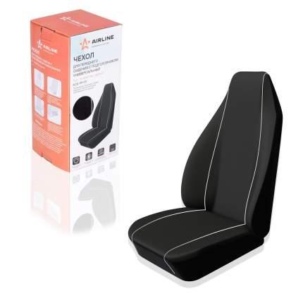Чехол для переднего сиденья с подгол., универсальный, 1 шт., полиэстер, черн. (ACS-PP-01)