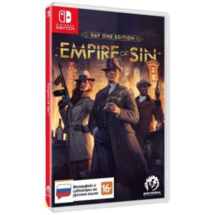 Игра Empire of Sin. Издание первого дня для Nintendo Switch