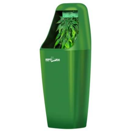 Поилка капельная для рептилий Repti-Zoo, пластик, 27x11x11 см, зеленый
