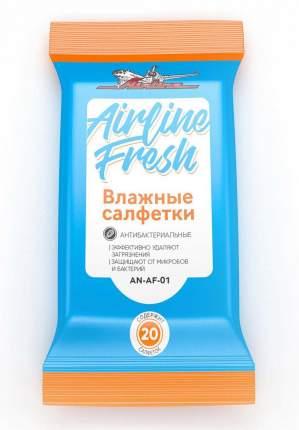 Салфетки влажные антибактериальные (20 шт.) Airline AN-AF-01