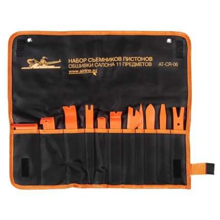 Набор съемников пистонов обшивки салона 11пр. планшет (AT-CR-06)