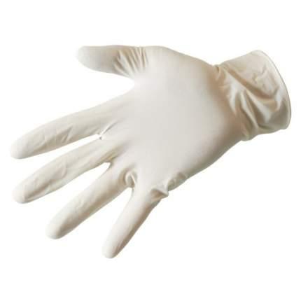 Перчатки одноразовые латексные Paclan нестерильные Белые Размер L 10 шт.