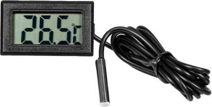 Цифровой термометр с выносным датчиком -50C до +110C ТЕХМЕТР TH-1 черный