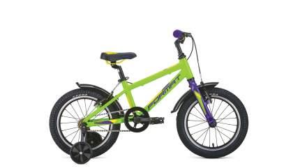Велосипед Format Kids 16 2021 рост OS зеленый
