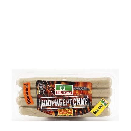 Колбаски свиные Велком Нюрнбергские для гриля охлажденные 320 г