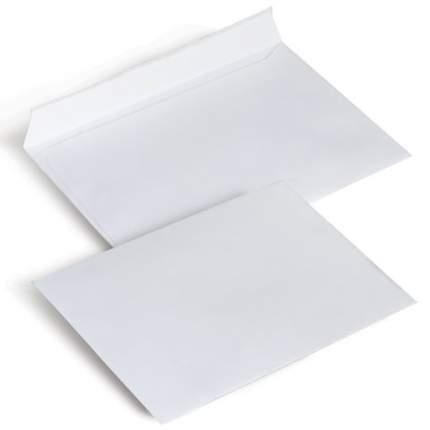 Конверты С6 (114х162 мм), отрывная полоса, белые, КОМПЛЕКТ 1000 шт.