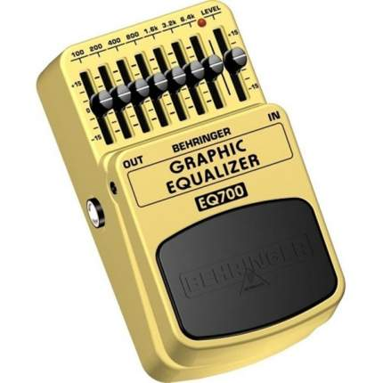 Гитарная педаль эффектов/ примочка BEHRINGER EQ 700 GRAPHIC EQUALIZER