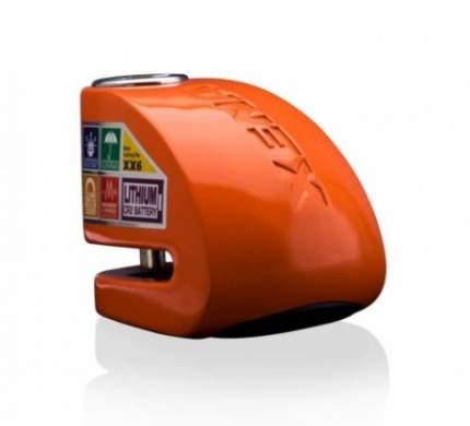 Замок на тормозной диск с сиреной Bluetooth XX6-HD BLE оранжевый