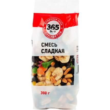 Фруктово-ореховая смесь 365 Дней сладкая 300 г