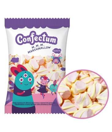 Маршмеллоу Confectum Веселые пружинки с ароматом клубники 200 г