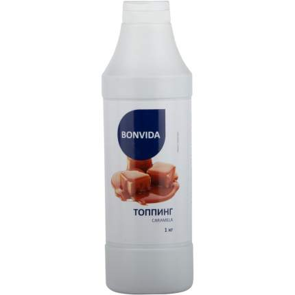 Топпинг Bonvida для мороженого со вкусом карамель 1 кг