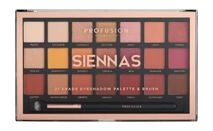 Палетка для век Profusion Siennas 21 Shade Eyeshadow Palette