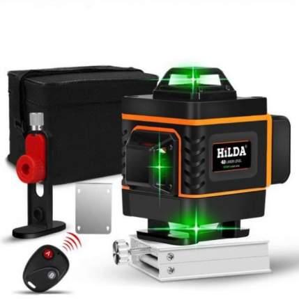 Лазерный уровень 4 D Hilda , 4 плоскости в 360 градусов, зеленый луч