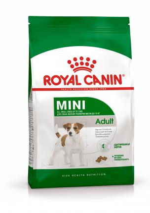 Сухой корм для собак ROYAL CANIN Adult Mini, рис, птица, 0.8кг