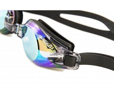 Очки для плавания Saeko S12uv View Mirror L34 черные