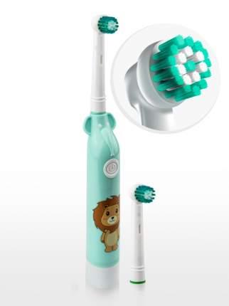 Зубные щетки Aiden-Dent Зоопарк зеленый лео