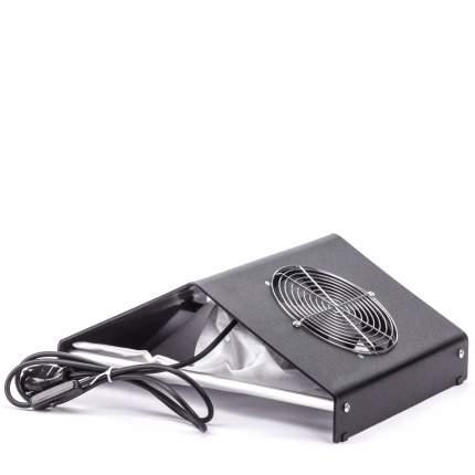Пылесос настольный для маникюра металлический; Soline Charms; 60W; черный