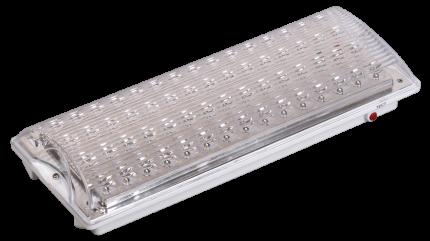 Светильник IEK аварийный ДПА 2104, аккумулятор, 4ч, 60LED, IP20