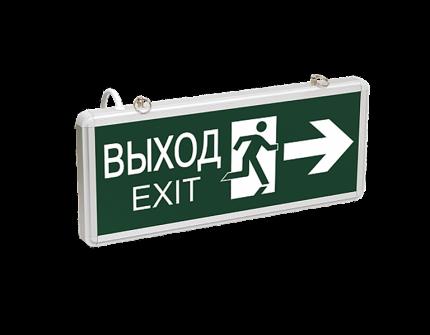Светильник IEK аварийный на светодиодах, ССА1003 1,5ч., 3Вт