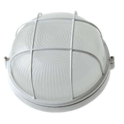 Светильник IEK НПП1102 белый/круг с реш. 100Вт IP54