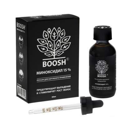 BOOSH 15% Лосьон от выпадения и для стимуляции роста волос. Миноксидил 15%