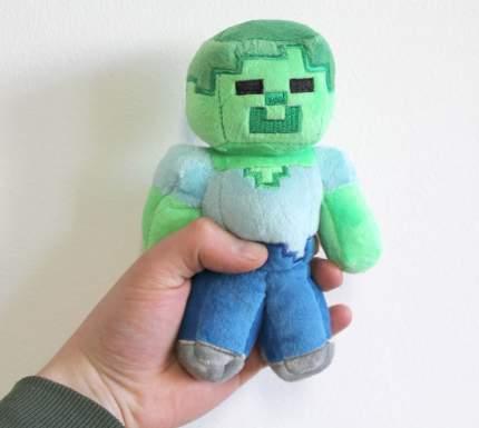 Плюшевая игрушка Lele Зомби из Майнкрафт, 15 см