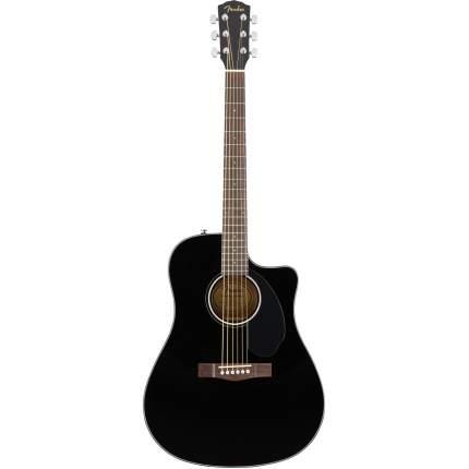 Электроакустическая гитара FENDER CD-60SCE Dread Black WN