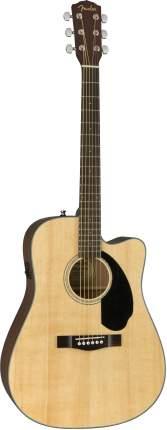Электроакустическая гитара FENDER CD-60SCE Dread Nat WN